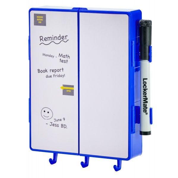LockerMate Magnetic Locker Mirror Kit, Blue