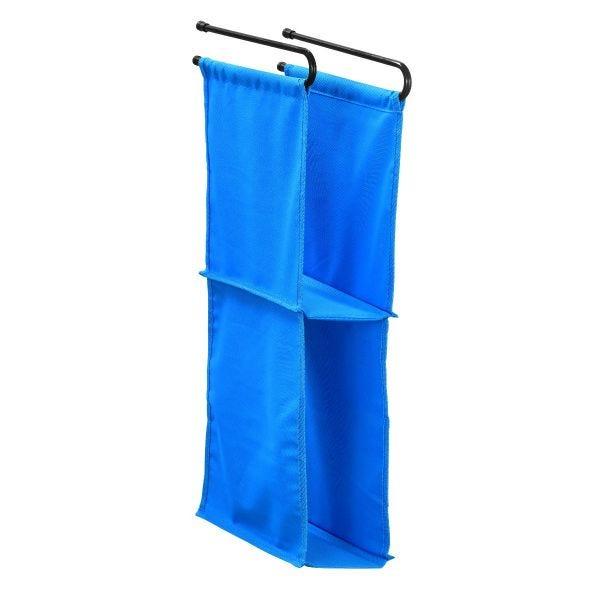 LockerMate Hanging Fabric Locker Shelf, Blue
