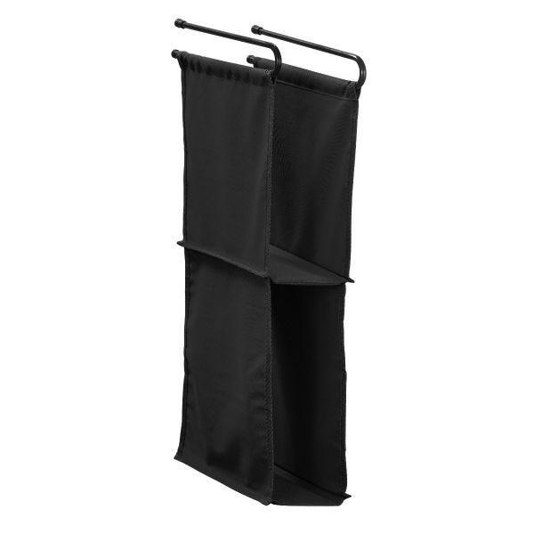 LockerMate Hanging Fabric Locker Shelf, Black