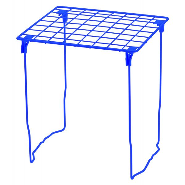 LockerMate Stac-A-Shelf Locker Shelf with Stackable Design, Blue