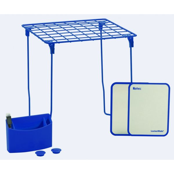 LockerMate 7-Piece Locker Storage Kit, Blue