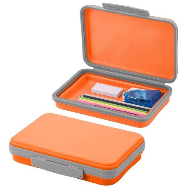 Orange Collapsible Pencil Box