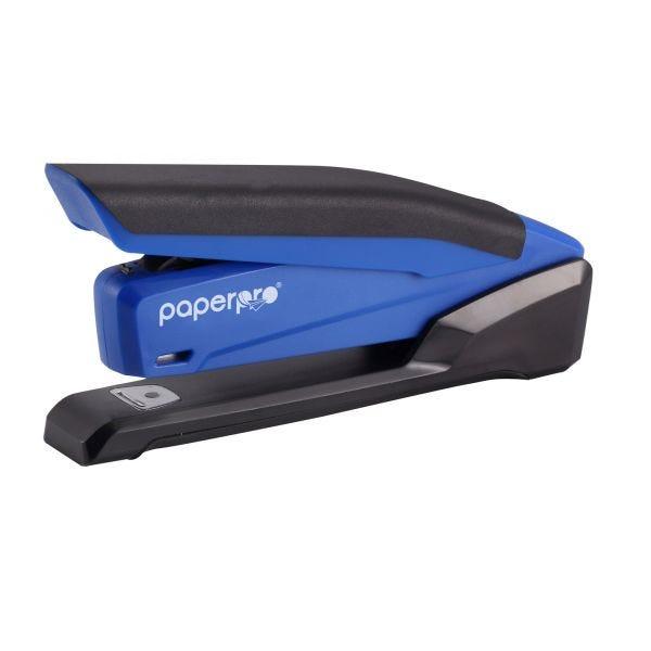 inPOWER 20 Desktop Stapler, Blue/Black