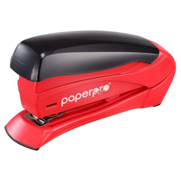 inSPIRE™ 15 Compact Stapler, Red